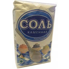 Соль каменная 1й помол в бумажных пачках